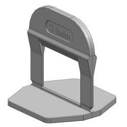TLS-PRO ECO - 100 db lapszintező talp 1 mm