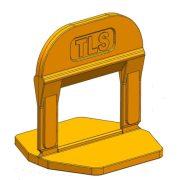 TLS-PRO NEW - 1000 db lapszintező talp 2.5 mm