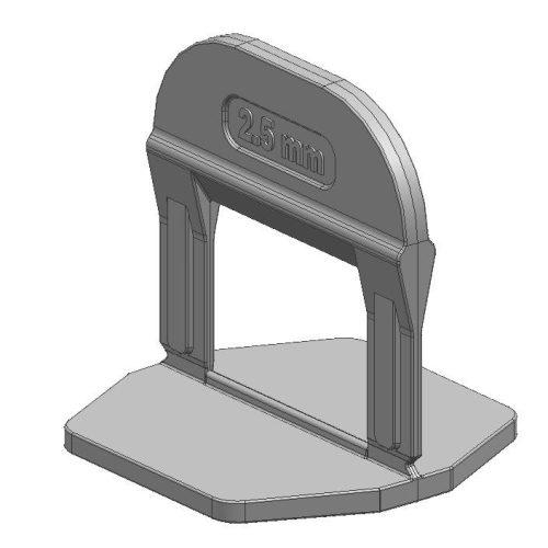 TLS-PRO ECO NEW - 500 db lapszintező talp 2.5 mm