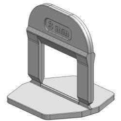 TLS-PRO NEW - 100 db lapszintező talp 3 mm