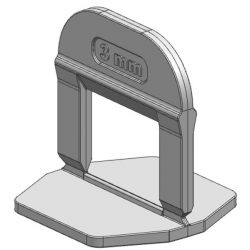 TLS-PRO NEW - 3000 db lapszintező talp 3 mm