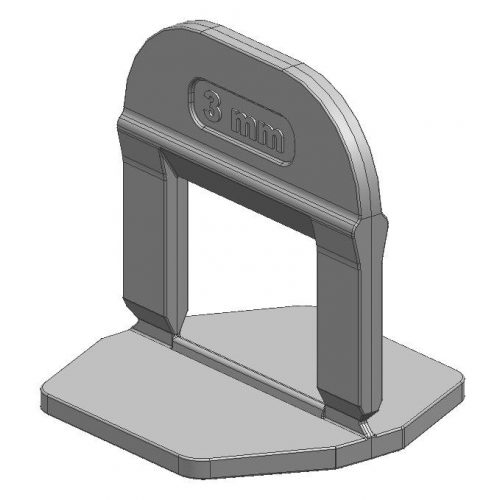 TLS-PRO ECO - 100 db lapszintező talp 3 mm