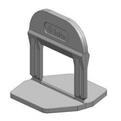 TLS-PRO ECO - 1500 db lapszintező talp 4 mm