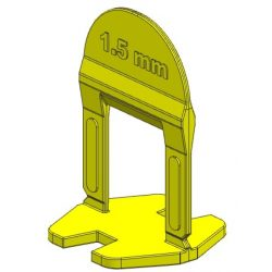 TLS BASIC kis ékes - 2000 db 1.5 mm lapszintező talp