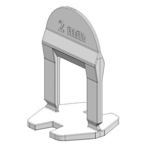 TLS BASIC kis ékes - 250 db 2 mm lapszintező talp
