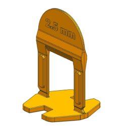 TLS BASIC kis ékes - 1500 db 2.5 mm lapszintező talp