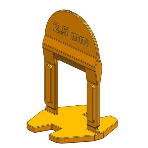 TLS BASIC kis ékes - 250 db 2.5 mm lapszintező talp