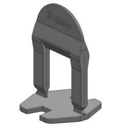 TLS BASIC kis ékes - 1000 db 3 mm lapszintező talp
