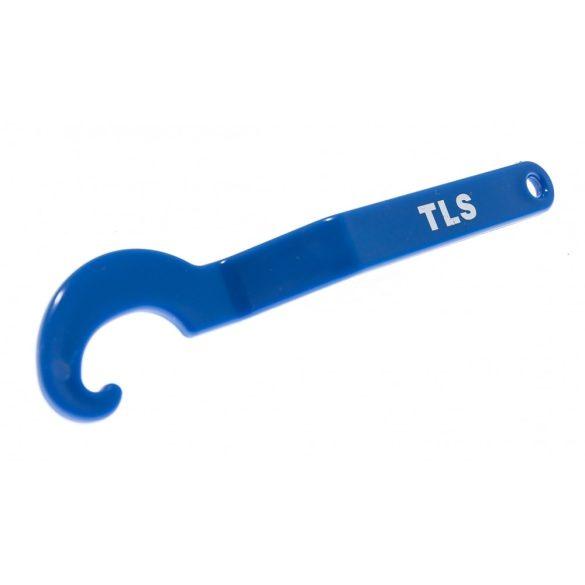 TLS-PROPELLER - 50 db  újrafelhasználható lapszintező talp + 1 db kulcs kék