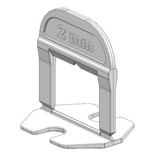 TLS-SMART NEW - 250 db lapszintező talp 2 mm