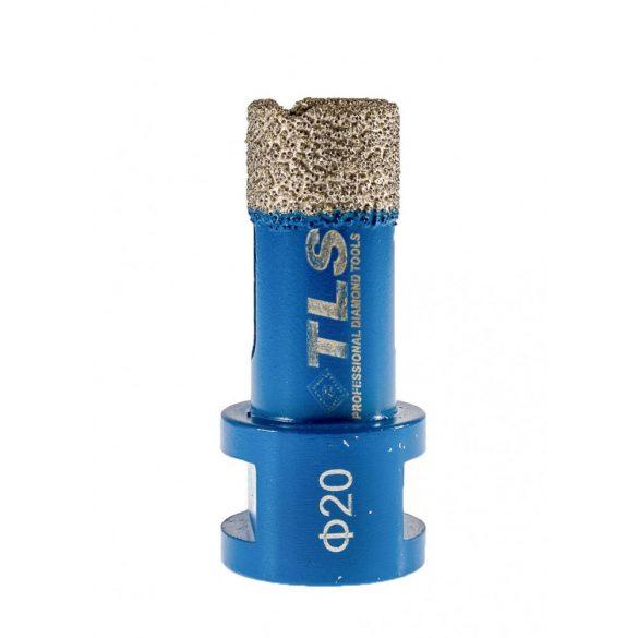 TLS COBRA-PRO 20 mm gyémánt lyukfúró kék