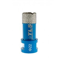 TLS COBRA-PRO 22 mm gyémánt lyukfúró kék