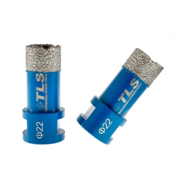 TLS COBRA-PRO gyémánt lyukfúró 22 mm kék