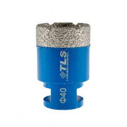 TLS COBRA-PRO 40 mm gyémánt lyukfúró kék