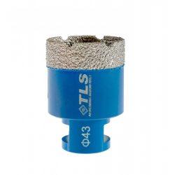 TLS COBRA-PRO 43 mm gyémánt lyukfúró kék