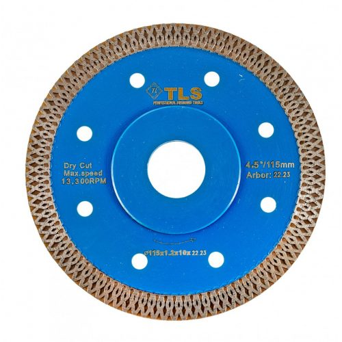 TLS X-PRO TURBO ultravékony gyémánt vágókorong d105x22,23x1,2x10 mm
