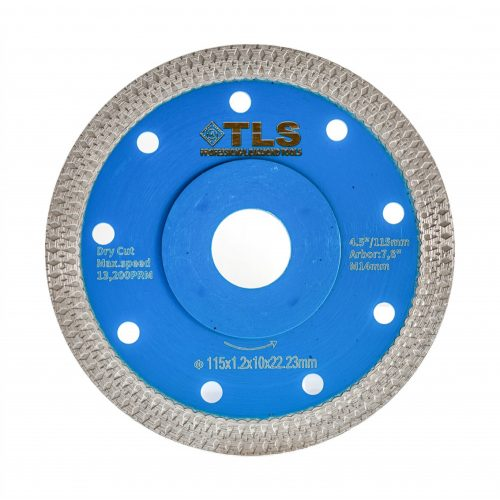 TLS X-PRO ultravékony gyémánt vágókorong d115x22,23x1,2x10 mm