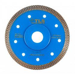 TLS X-PRO TURBO ultravékony gyémánttárcsa száraz vágáshoz D125x1.2x10x22.23 mm kék