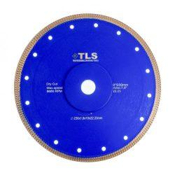 TLS X-PRO ultravékony gyémánt vágókorong d230x22,23x1,8x10 mm