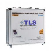 TLS-COBRA 3 db-os 55-68-100 mm - lyukfúró készlet - alumínium koffer fekete