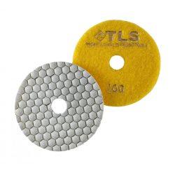 TLS ANGRY BEE-P100-d100 mm-gyémánt csiszolókorong-polírozó korong-száraz