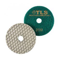 TLS ANGRY BEE-P1000-d100 mm-gyémánt csiszolókorong-polírozó korong-száraz