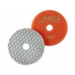 TLS ANGRY BEE-P200-d100 mm-gyémánt csiszolókorong-polírozó korong-száraz