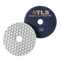 TLS ANGRY BEE-P30-d100 mm-gyémánt csiszolókorong-polírozó korong-száraz