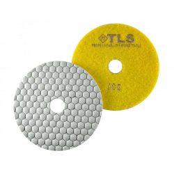 TLS ANGRY BEE-P100-d125 mm-gyémánt csiszolókorong-polírozó korong-száraz
