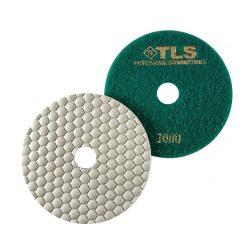 TLS ANGRY BEE-P1000-d125 mm-gyémánt csiszolókorong-polírozó korong-száraz