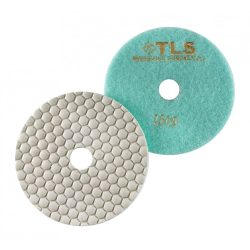 TLS ANGRY BEE-P1500-d125 mm-gyémánt csiszolókorong-polírozó korong-száraz