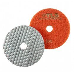 TLS ANGRY BEE-P200-d125 mm-gyémánt csiszolókorong-polírozó korong-száraz