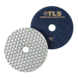 TLS ANGRY BEE-P30-d125 mm-gyémánt csiszolókorong-polírozó korong-száraz