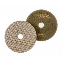 TLS ANGRY BEE-P3000-d125 mm-gyémánt csiszolókorong-polírozó korong-száraz