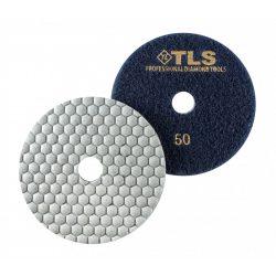 TLS ANGRY BEE-P50-d125 mm-gyémánt csiszolókorong-polírozó korong-száraz