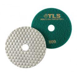 TLS ANGRY BEE-P800-d125 mm-gyémánt csiszolókorong-polírozó korong-száraz