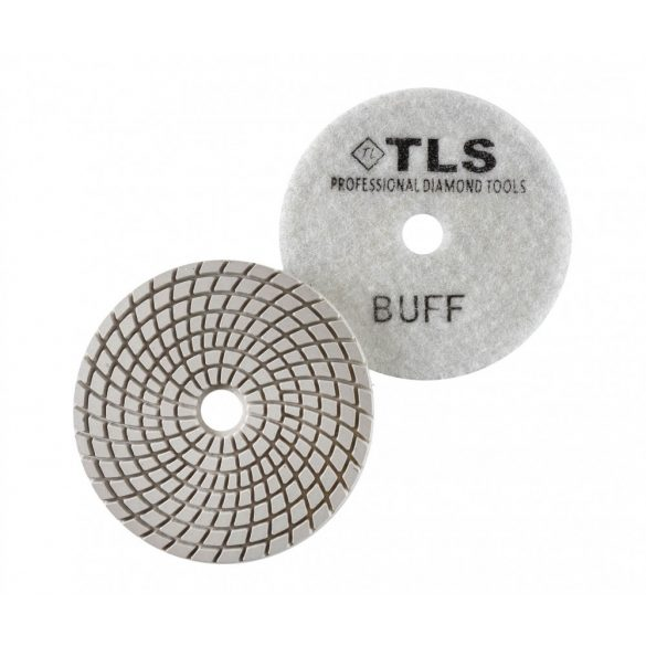 TLS SPIDER10-BUFF-d100 mm-gyémánt csiszolókorong-polírozó korong-vizes