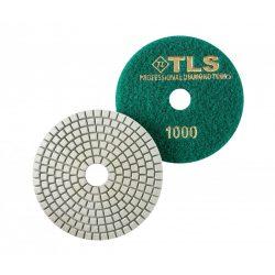 TLS SPIDER10-P1000-d100 mm-gyémánt csiszolókorong-polírozó korong-vizes