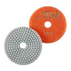 TLS SPIDER10-P200-d100 mm-gyémánt csiszolókorong-polírozó korong-vizes