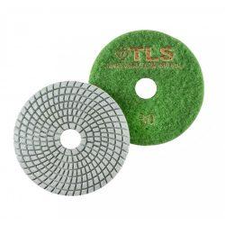 TLS SPIDER10-P30-d100 mm-gyémánt csiszolókorong-polírozó korong-vizes