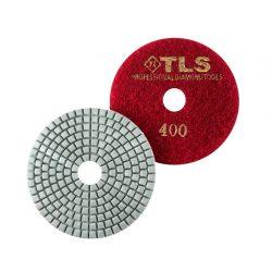 TLS SPIDER10-P400-d100 mm-gyémánt csiszolókorong-polírozó korong-vizes