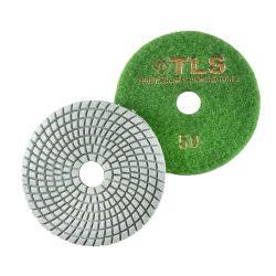 TLS SPIDER10-P50-d100 mm-gyémánt csiszolókorong-polírozó korong-vizes