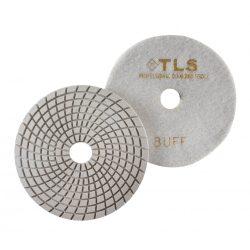 TLS SPIDER10-BUFF-d125 mm-gyémánt csiszolókorong-polírozó korong-vizes