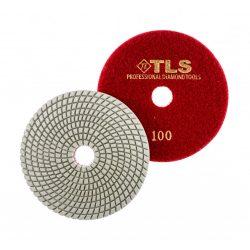 TLS SPIDER10-P100-d125 mm-gyémánt csiszolókorong-polírozó korong-vizes