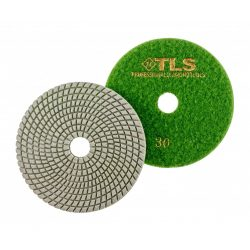 TLS SPIDER10-P30-d125 mm-gyémánt csiszolókorong-polírozó korong-vizes