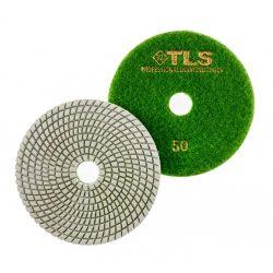 TLS SPIDER10-P50-d125 mm-gyémánt csiszolókorong-polírozó korong-vizes