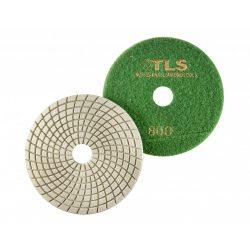 TLS SPIDER10-P800-d125 mm-gyémánt csiszolókorong-polírozó korong-vizes