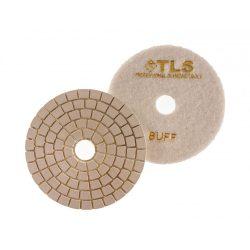 TLS SPIDER PRO10-BUFF-d125 mm-gyémánt csiszolókorong-polírozó korong-vizes