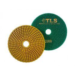 TLS SPIDER PRO10-P1000-d125 mm-gyémánt csiszolókorong-polírozó korong-vizes