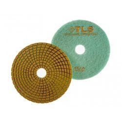 TLS SPIDER PRO10-P1500-d125 mm-gyémánt csiszolókorong-polírozó korong-vizes